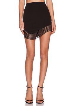 Premonition Devotion Skirt in Black | REVOLVEclothing $121