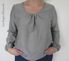 Tunic O  with modified sleeves SDB1