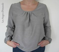 Tunic O  with modified sleeves SDB1