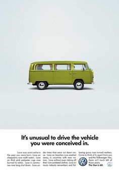 VW - driven by the cool people, don't ya know!!