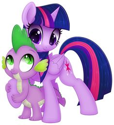 Spike and Twi by CTB-36.deviantart.com on @deviantART