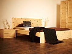 Schlafzimmer Ideen Zirbenholz Schlafzimmer Modern Doppelbett In ... Schlafzimmer Zirbenholz