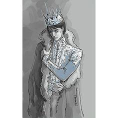 "Dorian, the reluctant King (""Throne of Glass"" by Sarah J. Maas @therealsjmaas ) #Throne_of_Glass #Dorian_Havilliard #SJMaas #illustration #art #fanart #characters #books #novels #YA #Sarah_J_Maas #Queen_of_Shadows #Dorian #Havilliard #King #crown #boys #guys #digital #Wacom #PhantomRin"