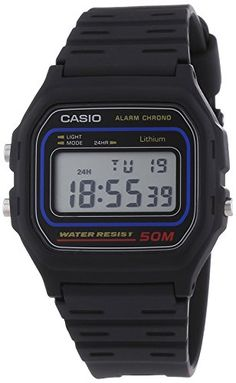 Casio Collection Herren-Armbanduhr Digital Quarz W-59-1VQES - http://uhr.haus/casio/casio-collection-herren-armbanduhr-digital-w-59-2