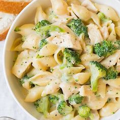 Creamy Broccoli Chicken Shells and Cheese!  . Made by the beautiful Jacyln @cookingclassy!