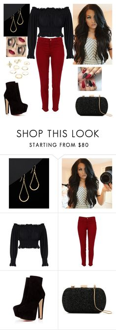 """""""Girls Night Out"""" by paoladouka on Polyvore featuring KamaliKulture, J Brand, Le Lis Blanc and Charlotte Russe"""