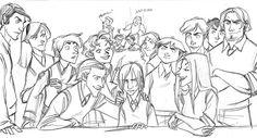 Lucissa — missnarcissa: The Slytherins by Makani Harry Potter Comics, Harry Potter Anime, Harry Potter Fan Art, Harry Potter Universal, Harry Potter World, Harry Potter Memes, Potter Facts, Severus Rogue, Severus Snape