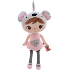 Plush Toy in Koala Costume /Stuffed Toy in Koala Outfit (Gift Doll /Girl)
