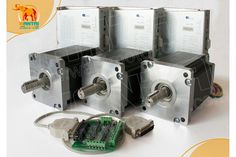 CNC Router kits 3Axis Nema 42 Stepper Motor 3256 OZ-IN,6A CNC Mill & Cutting-Stepper Motor