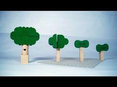 ▶ How To Build Curvy LEGO Trees - YouTube