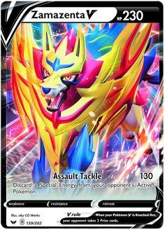zamazenta v jumbo pokemon card Pokemon Card Memes, All Pokemon Cards, Pokemon Cards Legendary, Pokemon Breeds, Pokemon Trading Card, Pikachu, Pokemon Fusion, Best Pokemon Card, Party