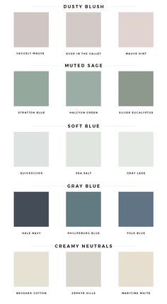 spring color palette - Mint Modern Home