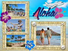 Feel the charm of tropical warmth and sky-blue sea with the Hawaii collage. Get a copy of http://ams-collage.com/download.php and realize your own photo collage design ideas! #TravelCollage #CollageIdeas