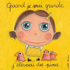 Pious - Isabelle Kessedjian Disney Artists, Collaborative Art, When I Grow Up, Little Birds, Children's Book Illustration, Comic Character, Cute Drawings, Childrens Books, Fairy Tales