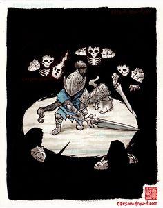 Dark Souls commission by Carson-drew-it Sif Dark Souls, Dark Souls Artorias, Character Concept, Concept Art, Character Design, Dibujos Dark, Soul Saga, Bloodborne Art, Dragon