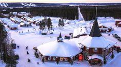 Christmas House Santa: meet the Official Santa Claus of the Arctic Circle in… Santa Claus Photos, Santa Claus Village, Meet Santa, Lapland Finland, Arctic Circle, Holiday, Christmas, House, Outdoor