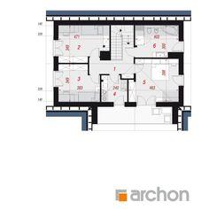 Dom w żurawkach 10 Floor Plans, House, Home, Haus, Floor Plan Drawing, Houses, House Floor Plans