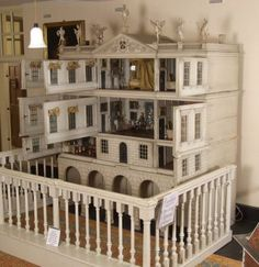 The Dolls House, which gives such a wonderful glimpse into 18th century life in a country house, came to Uppark with Lady Sarah on her marriage to Sir Matthew Fetherstonhaugh in 1746. A special piece such as this would have been an important part of a family status; it would have been an entertainment for the ladies and perhaps for the children to play with, but only under supervision.