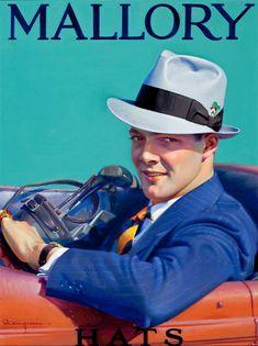 Robert C Kauffmann / A Dapper Driver for Mallory Hats