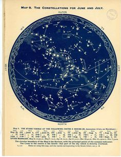 1926 june july august of southern hemisphere print