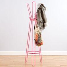 Basic Framework Coat Rack (Pink)  | LandOfNod