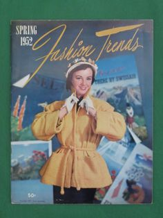 Vintage SPRING 1952 FASHION TRENDS Catalog Savoy Associates   eBay