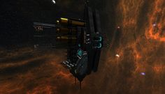 """""""Trade Hub"""" is one of the trading guild #Starmade stations, made by Vanhelzing"""
