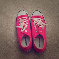 68ffea787d78 Converse - pink Size 7 converse in good condition Converse Shoes Sneakers