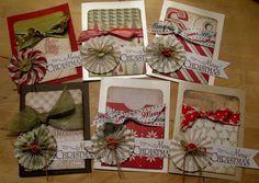 Card: Christmas gift card holders