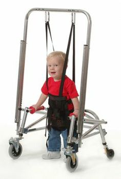 pediatric gait trainer with harness | Suspension Conversion Kits for Posture Control Walkers