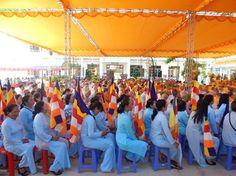 Cho Thuê nhà bạt tổ chức Lễ kỷ niệm 35 năm GHPGVN tại Bình Thuận
