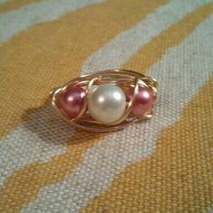 Pearl Ring from Treasured Trinkets
