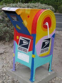Mailbox in Sanibel/ Captiva Sanibel Florida, Captiva Island, Florida Style, Fort Myers Beach, Florida Living, Cape Coral, My Happy Place, Mailbox, Rainbow Colors