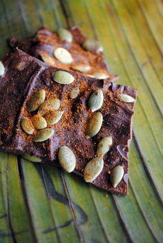 Spicy Chocolate Bark