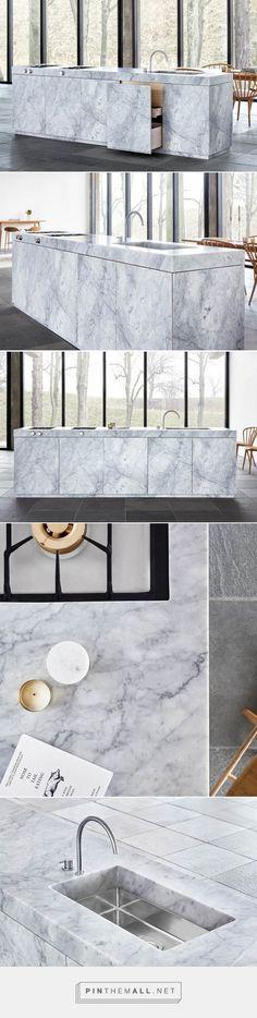 jonas lindvall presents marble kitchen concept for ballingslöv - created via https://pinthemall.net