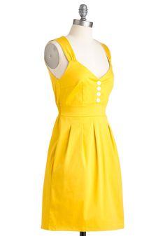 Sundress of My Life | Mod Retro Vintage Solid Dresses | ModCloth.com