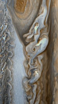Jupiter: March 1, 1979 | NASA Voyager 1 | The Great Red Spot is a persistent zone of high pressure, producing an anticyclonic storm on the planet Jupiter, 22° south of the equator. It has been continuously observed for 187 years, since 1830. Earlier observations from 1665 to 1713 are believed to have been the same storm; if this is correct, it has existed for more than 350 years.