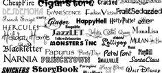 Encuentra las mejores tipografías en páginas especializadas