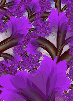 Jacaranda by pinkal09 on deviantART More @ http://www.facebook.com/groups/ArtandStuff & http://www.facebook.com/ComicsFantasy & http://nl.pinterest.com/ingestorm/color-purple/