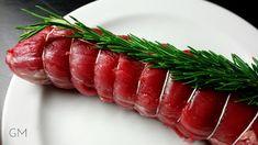 Vepřová panenka na rozmarýnu - Sous Vide | pazitka.cz Sous Vide, Sushi, Ethnic Recipes, Food, Essen, Meals, Yemek, Eten, Sushi Rolls