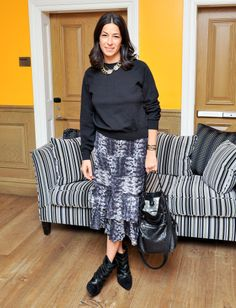 Rebecca Minkoff  at  ASOS 's January issue launch.
