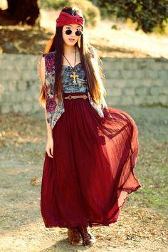 very hippiee
