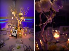 more tree-like centerpieces