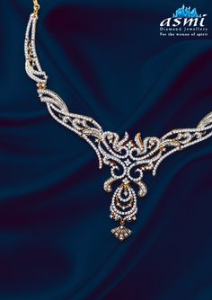 Effortless and graceful necklaces from asmi diamond jewellery to effortless and graceful necklaces from asmi diamond jewellery to give you that exceptionalsparkle asmi necklace board pinterest aloadofball Images