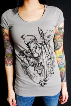 f87734afc Tshirts · Boba Fett Tunic by FingersDuke on Etsy, $25.00 ONLY FOR THE  LADIES // WANT