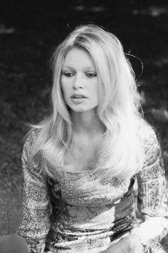 Brigitte Bardot's 70s look.