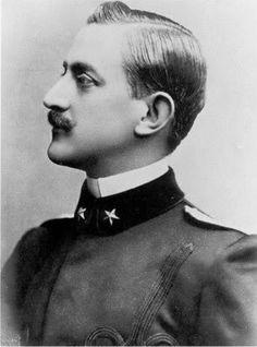 Duc Emmanuel-Philibert d'Aoste (1869-1931) époux de la princesse Hélène d'Orléans
