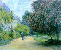 Park Monceau, 1876 - Claude Monet - WikiArt.org