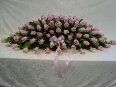 Pink Funeral Flowers