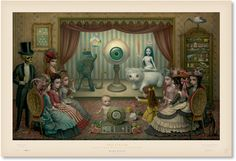 """""""The Parlor"""" Limited Edition Lithographic Poster - $500 a pop!"""